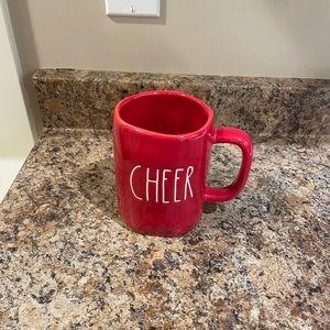 Rae Dunn Red Cheer Christmas mug
